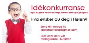Avviklingsstyret for gamle Hølen barnehages idekonkurranse!